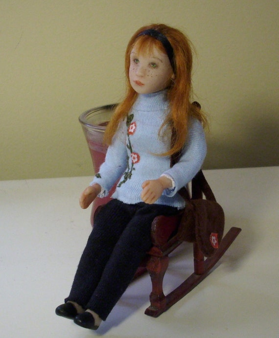 One of a Kind Teen Dolll House Doll now reduced