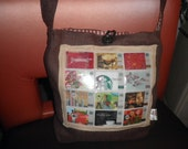 Burlap Bag with Starbuck cards