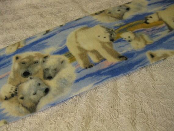 Five Buck Fleece Scarf BlowOut 450+ Prints! Only at SylMarCreations! Winter  Fleece Scarf  Polar Bears