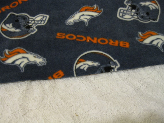 500+ Scarf Print Selection! Only at SylMarCreations!  A Denver Broncos Scarf Winter Fleece Scarf Football