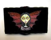 Celeste - the Zombie Fairy - Halloween ornament OOAK