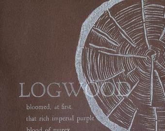 Logwood Postcard