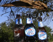 Miller Lite Beer Bottle Windchime-RESERVED LISTING-TXTNT