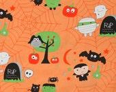 Riley Blake Halloween print Boo 1 yard