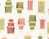Fabric Good life collection asia Robert Kaufman  house 1 yard Christmas sale Clearance