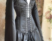 Valkyrie Prototype Bustle Corset Coat-To Fit 26-30 Inch Waist