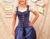 Alice In Wonderland Corset-Corset Only-MADE FOR BUYER