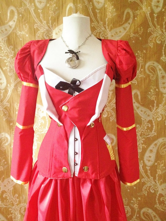WAS 140 White Rabbit Alice In Wonderland Outfit -Jacket Only-Size small