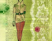 Fashion Victim - Original Illustration - Golder's Green