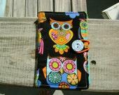 Tea Wallet- Groovy OWLS