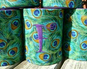 Peacock  Can Koozie- Order a Set for your Bridal Party