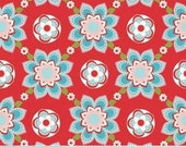 SALE Sugar & Spice Floral fabric by The Quilted Fish for Riley Blake