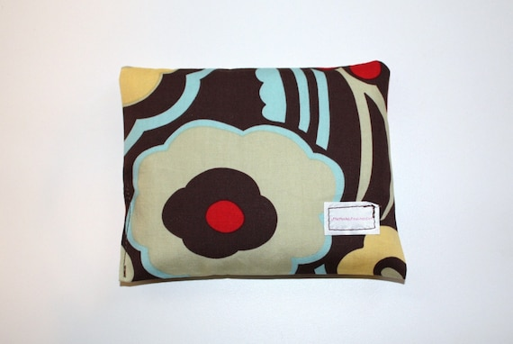 Small Hot/Cold Therapy Pillow in Mocca, perfect for Children's Boo Boos, used hot or cold