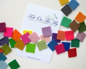 Wool Felt Sample Card Choose Your Own Samples Swatches Merino Wool Felt Set Color Matching