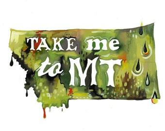 Take me to MT