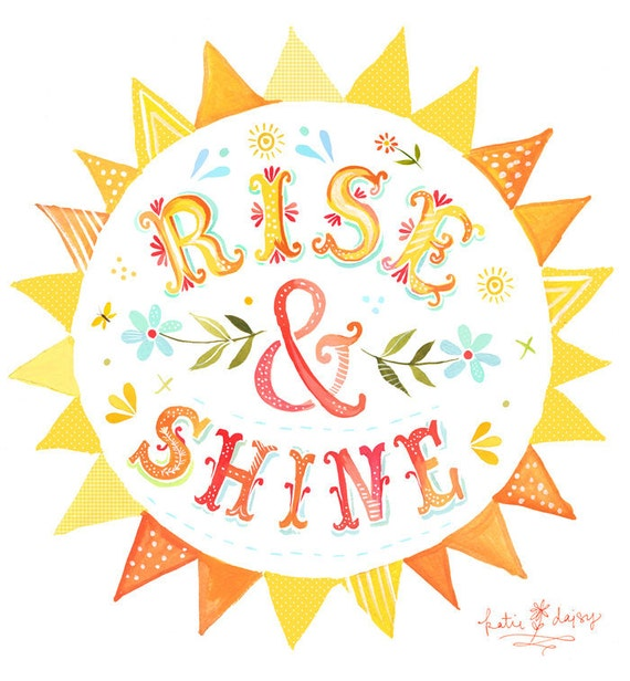 Rise & Shine art by The Wheatfield
