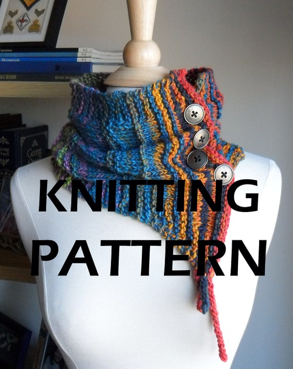 Pattern: Whimsical Elf Couture Cowl KNITTING PATTERN