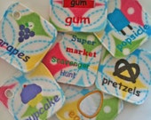 Supermarket Scavenger Hunt Game Cards for Kids