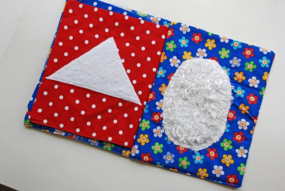 My TOUCH AND FEEL Fabric Sensory Book - A must for preschoolers