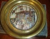 England--Round Decorative Plate Picture