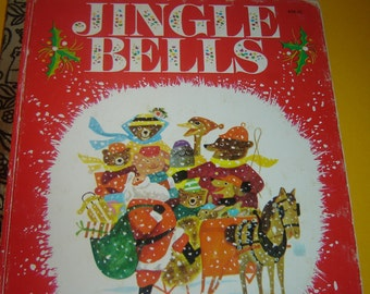 1977 Jingle Bells Little Golden Book