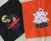 Spook - E - Licious Scary Cupcakes Halloween Quilt Block Set