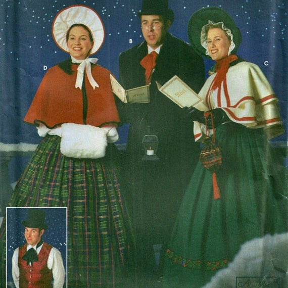 Simplicity 5418 Christmas Carol Costume Pattern Size Xs Xl