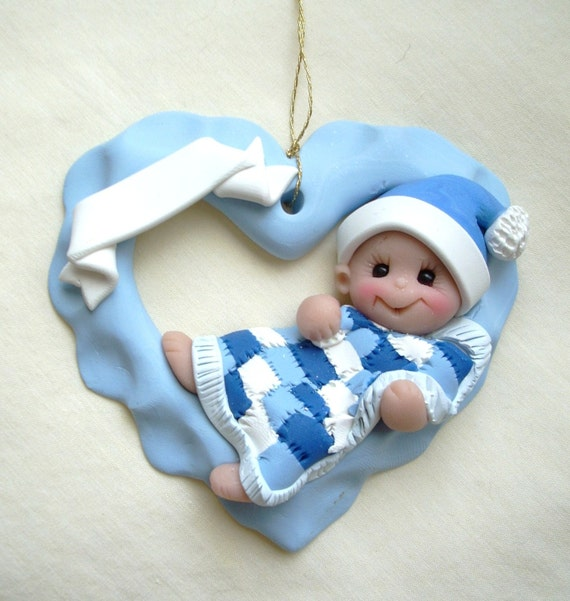 Babys First Christmas Gifts: 2011 Baby's First Christmas Ornament Personalized Baby