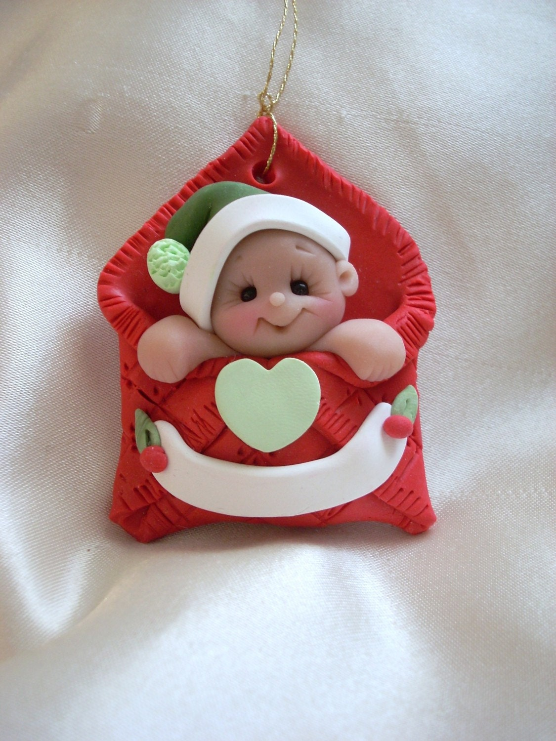 Baby's first Christmas Ornament Personalized Baby Gift
