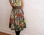 custom tea dress -  reserved for Amanda