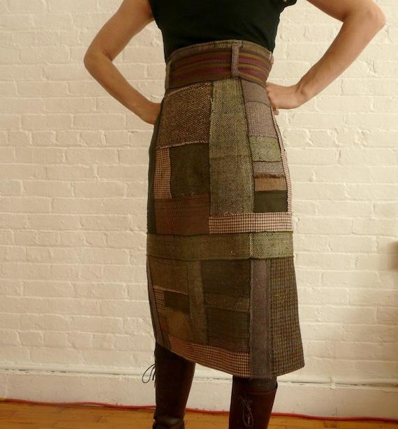 high waisted pencil skirt.....pure patchwork