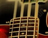 5mi. Bass Guitar - Digital Art Photography - 10 x 8