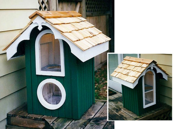 Items Similar To Heated Outdoor Cat House On Etsy