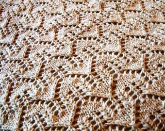 Fearless Dreamer Baby Blanket - Knitting Pattern by Sami Kaplan