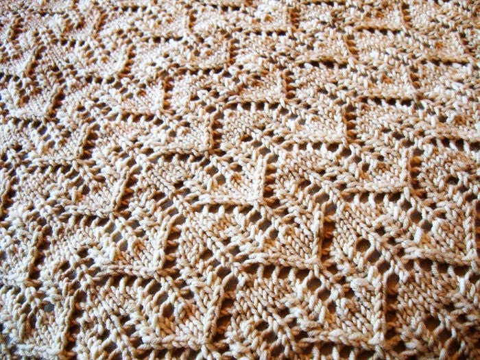 Fearless Dreamer Baby Blanket - Knitting Pattern by Sami Kaplan from fabuknit...