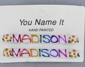 Personalized Hair Barrette, your daughters name