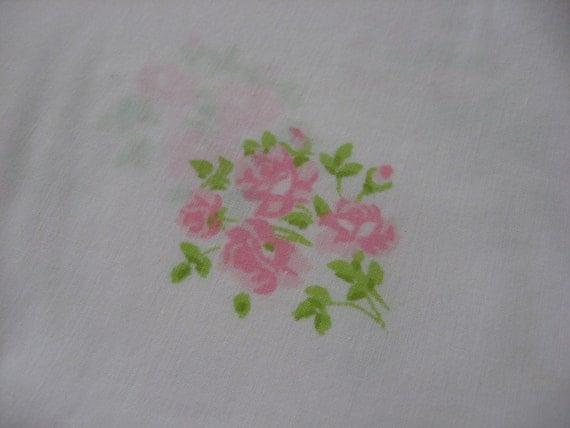 Pink Roses Full Flat Sheet Cutter