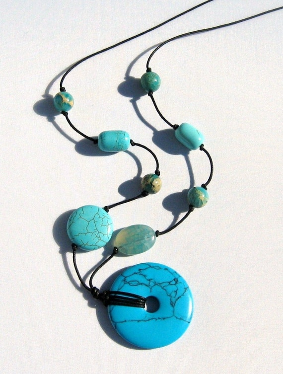 Nursing Necklace Turquoise Joy