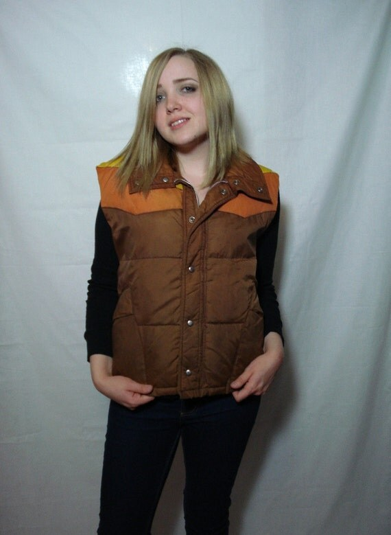 Vintage 70s Puffy Vest