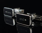 Computer Key Series- Home and End Key - Cufflinks