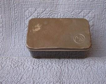 Vintage DROMEDARY TIN (II)