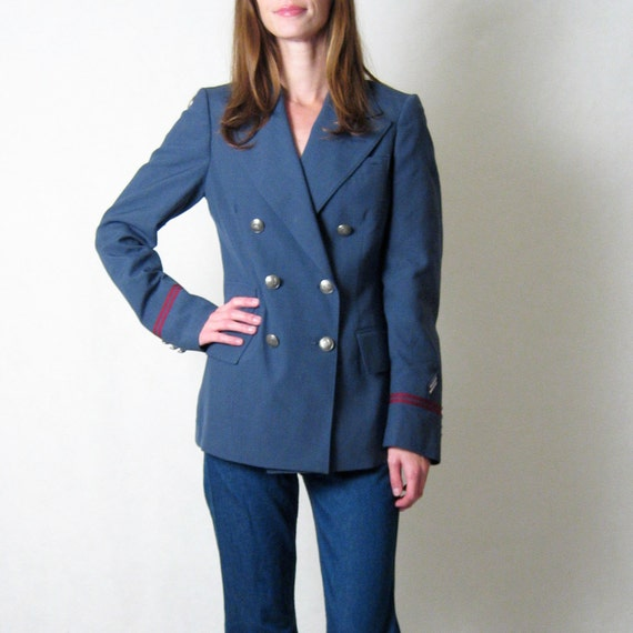 HALF OFF SALE //  nwt Ralph Lauren for twa airline stewardess jacket, m