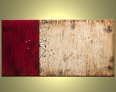 Contemporary abstract, modern art painting 48 inch by Jacob Pazera