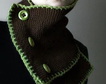 Hand-knit Neck Warmer / Cowl