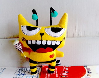 Clearance Buzzy - The bumble bee ice cream cat