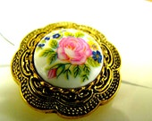 Vintage Button Covers Set of 4