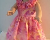 Shades of Pink Hawaiian Dress