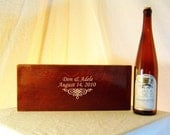 Ceremony Wedding Time Capsule Wine Box in Small