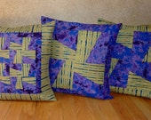 Tie Dyed, Pinwheel Pillow Cover