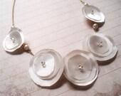 Sofia - Textile necklace